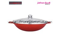 Are Ikan Korea Wok Ajaib 40cm RED