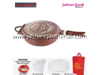 Are Ikan Wok With Pan Ajaib 32cm RUBY