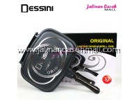 Dessini Double Grill Pan 32cm BLACK