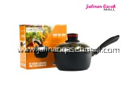 Latim Sauce Pan 16cm BLACK