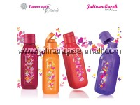 Tupperware Sparkle Square Eco Bottle flip top 500ml