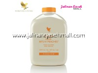 Forever Aloe Bits Peaches Liquid 1liter