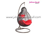 JQ Swing Chair Pear Black EXTRA LARGE