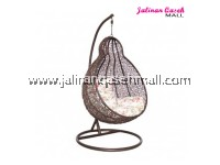 JQ Swing Chair Pear Brown EXTRA LARGE