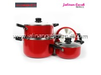 Are Ikan Non-stick Cookware Set 4 in 1 (8pcs)