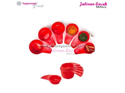 Tupperware Measuring Cups - Fire