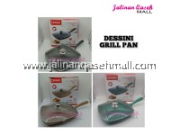 DESSINI - Grill Pan With Glass Lid 28cm