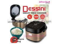 Dessini Rice Cooker 5L Smart Rice Cooker