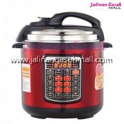 DESSINI Pressure Cooker Red 6Liter