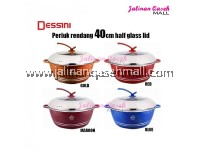READY STOCK !! DESSINI 40cm/Periuk Rendang/Periuk Batu Granite Induction/Granite Stone Casserole